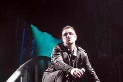 U2 concert in Norman, OK.