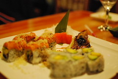 meal, supper, sushi, food, dish, cuisine,