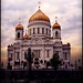 Moscow-Cathedral of Christ the Saviour by joli soleil