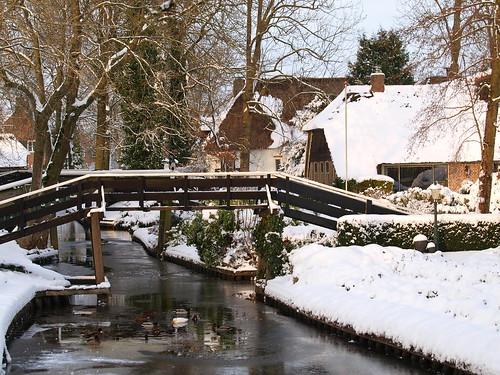 Winters Giethoorn