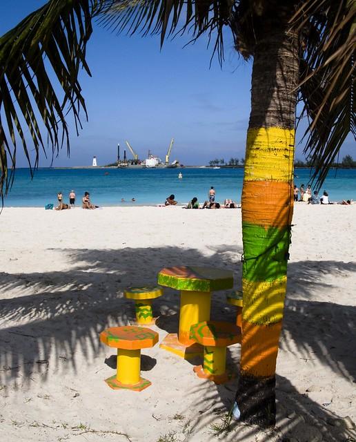 Bahamas Beach: Junkanoo Beach Nassau Bahamas