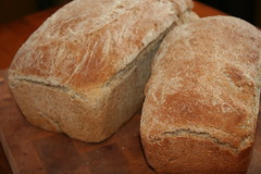 baking, beer bread, bread, rye bread, baked goods, food, brown bread, sourdough,