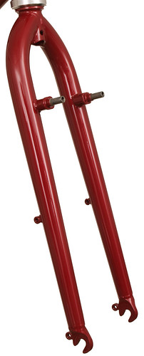 <p>Gunnar Grand Tour Fork with canty studs, eyelets and rack mounts to fit the Tubus Tara Rack.</p>