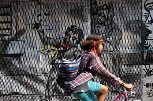 'Graffiti' Werregarenstraat Gent