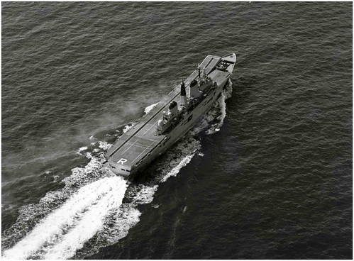 HMS Ark Royal - Final sea trials - 13th April 1985