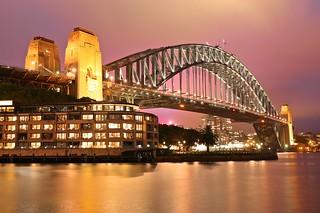 Harbour Bridge & Colorful Night