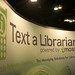 Text a Librarian Booth at ALA Midwinter