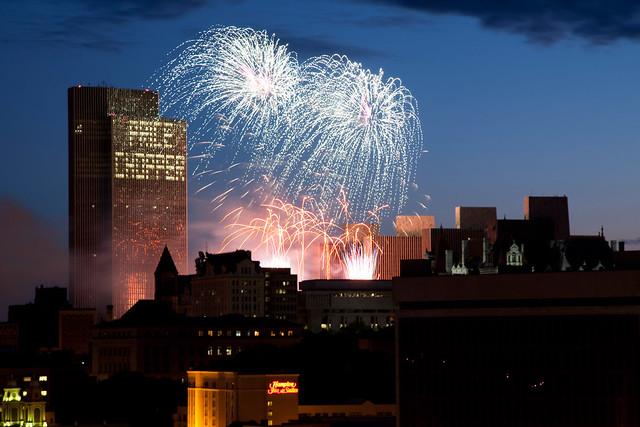 4th of July Fireworks - Albany, NY - 09, Jul - 17