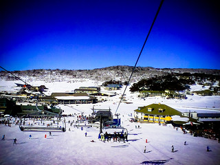 perisher from the lift