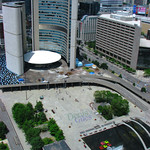 Nathan Phillips Square from the 35th Floor