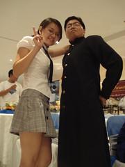 Japanese Schoolgirl and Japanese Cheerleader