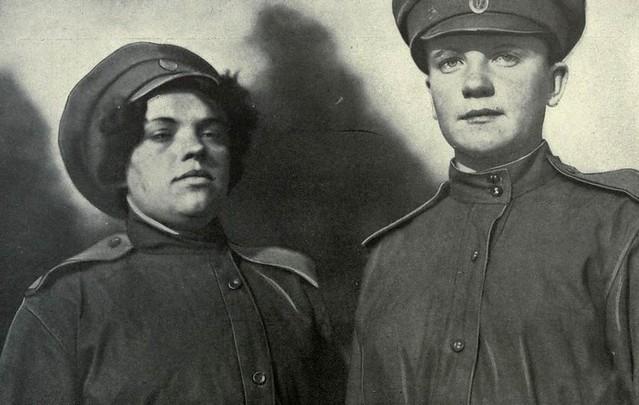 DMP-DD274 WORLD WAR ONE FEMALE World War 1 Russian Soldiers