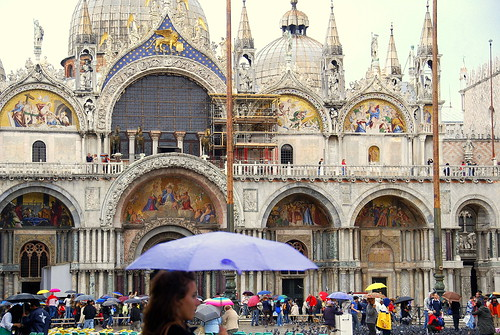 Umbrellas of Venice
