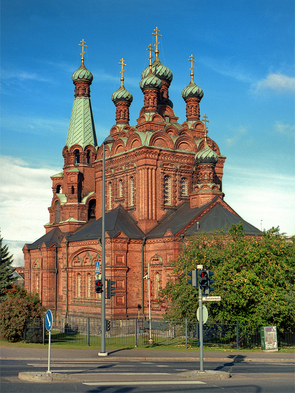 Tampere Orthodox Church, Tampere, Finland - SpottingHistory com