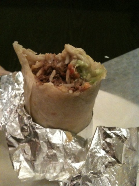 Still as good as I remember: Steak super burrito from Anna's Taqueria