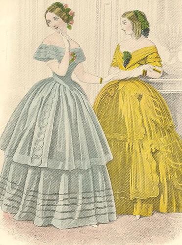 1850's fashion