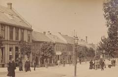 Nordre gate fra Bruns bokhandel (1893)