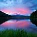 Trillium Lake by Jesse Estes