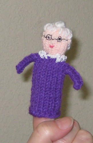 Easy Finger Puppet Knitting Pattern : Ravelry knitted finger puppets easy to make toys