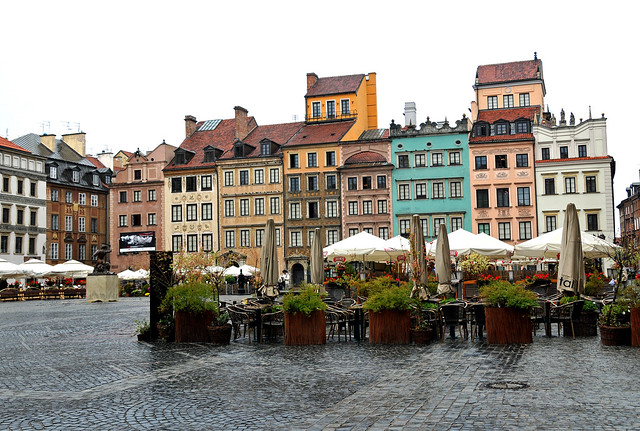 Poland_4076 - Old Town Square from Flickr via Wylio