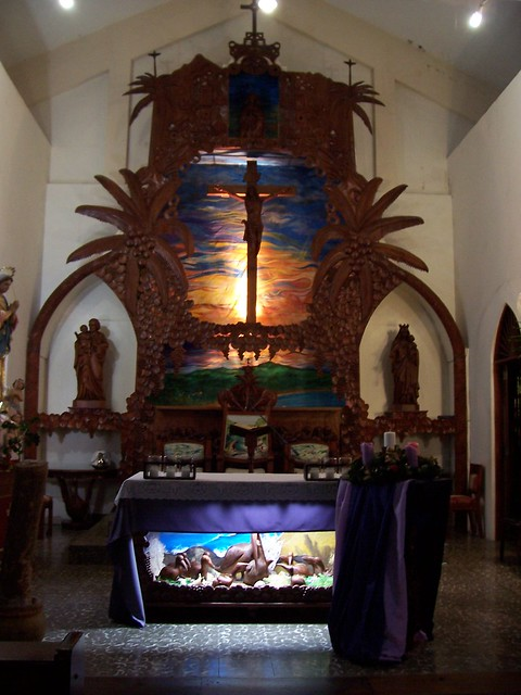 Luquillo St. Joseph's church altar