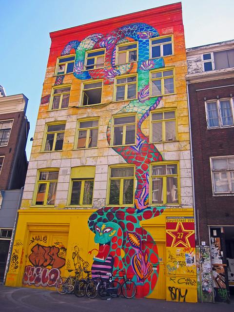 Amsterdam Street Art Patries Van Elsen Flickr Photo