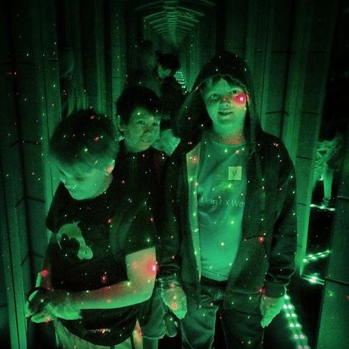 mirrormaze green