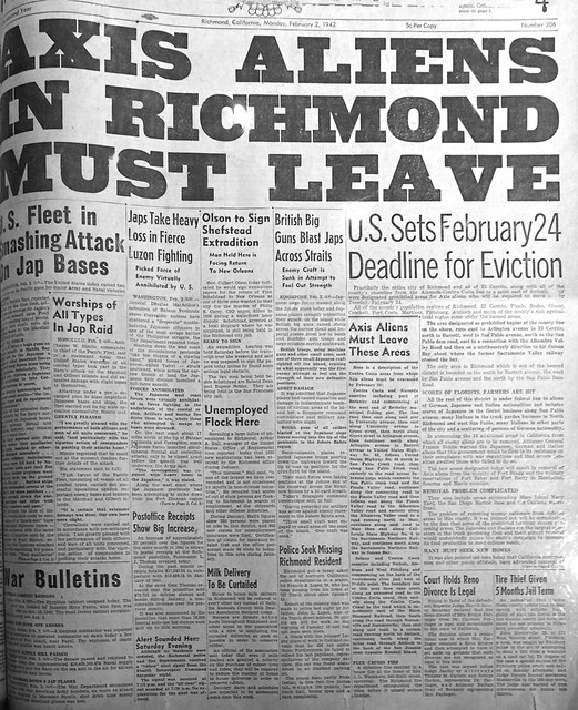 richmond independent enemy aliens 1942