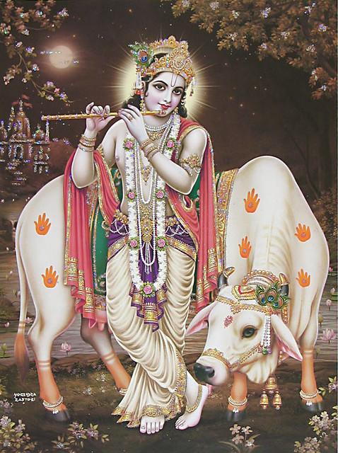 samo 'ham sarva-bhutesu na me dvesyo 'sti na priyah ye bhajanti tu mam bhaktya mayi te tesu capy aha