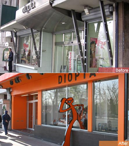 Optical Shop :: Exterior Design