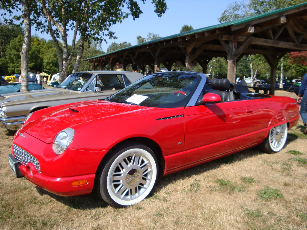 2002 ford thunderbird sports roadster a photo on flickriver. Cars Review. Best American Auto & Cars Review