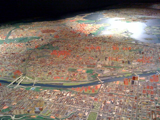 NYC Panorama (scale model @ Queens Museum of Art