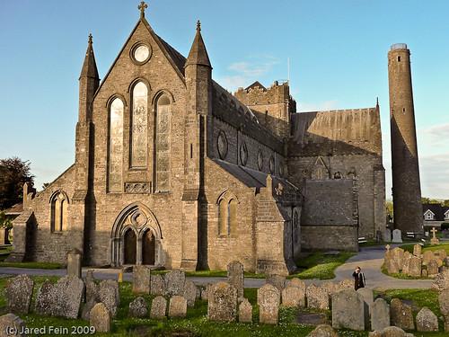 kilkenny ireland church graveyard cathedral explore gravestone flickrexplore explored saintcanice sewerdoc ©jaredfein