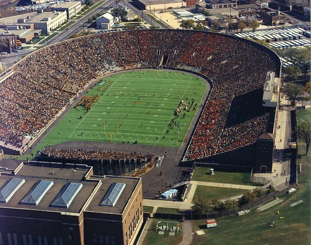 Minnesota Memorial Stadium Aerial Flickr Photo Sharing