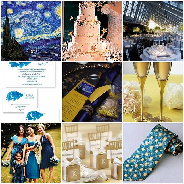 Star Night Wedding Theme: Starry Starry Night Wedding Theme