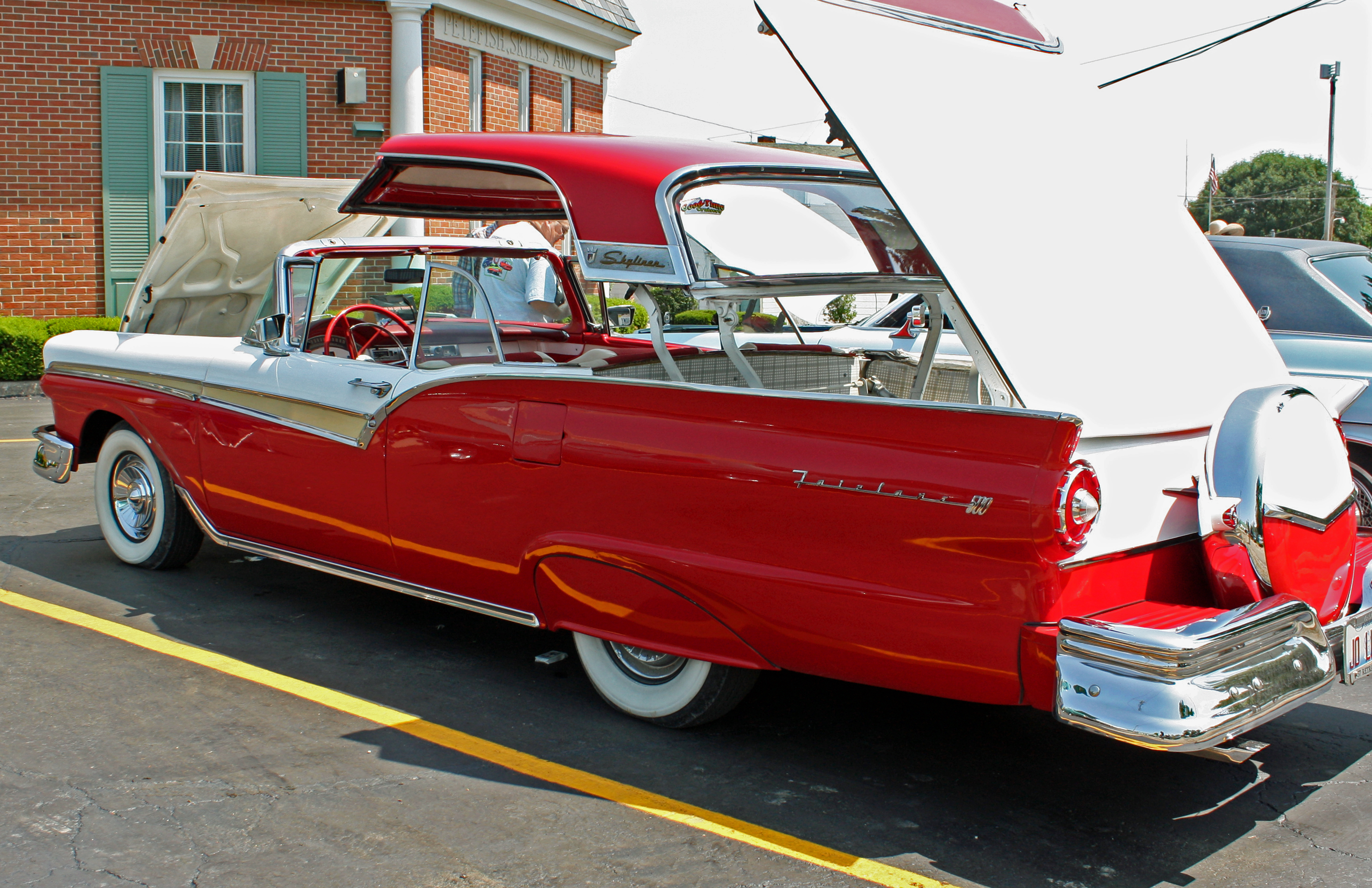 1957 Ford Fairlane 500 Skyliner Convertible With