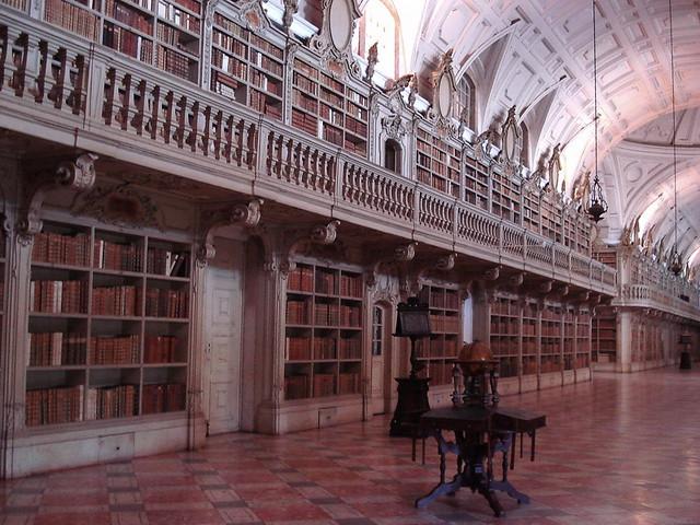 Convento de Mafra, Mafra-Portugal -Mafra National Palace-Biblioteca