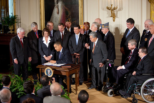 President Obama Signs Veterans Health Care Budget Reform ...