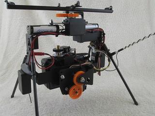 Gyro stabilized rig (3/4 back)