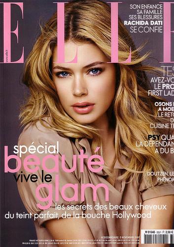 Doutzen Kroes Elle Magazine by Biilboard Hot 100
