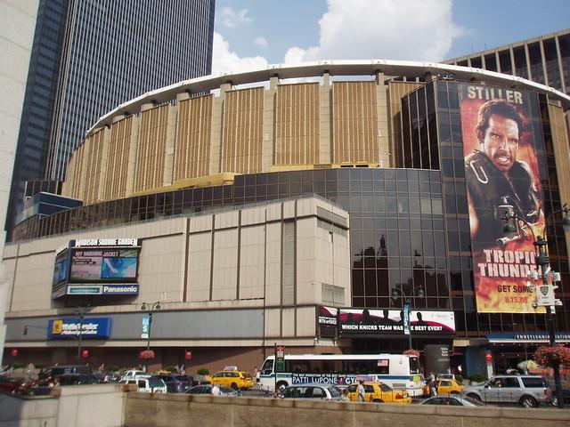 New york new york manhattan pennsylvania station and ma - Madison square garden penn station ...