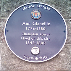 Photo of Ann Glanville blue plaque
