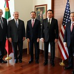 Secretary of State Rex Tillerson travels to Mexico City, February 22–23, 2017. He is joined in Mexico by U.S. Secretary of Homeland Security John Kelly.