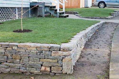 Basalt Stone Wall : Rustic basalt retaining wall flickr photo sharing
