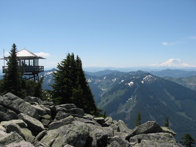 Granite Mountain - Fire Lookout
