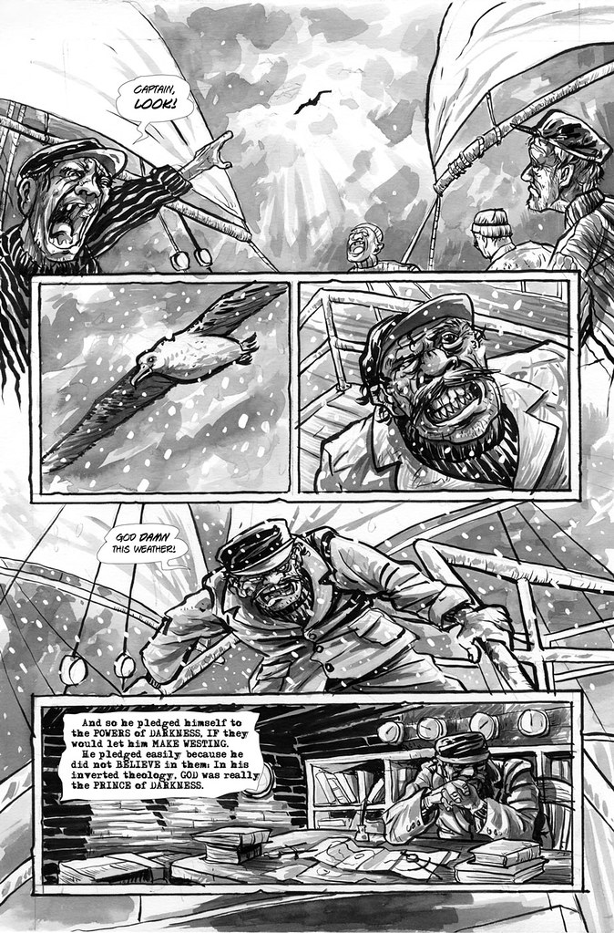Make Westing page 3 illustrated by Anthony Peruzzo