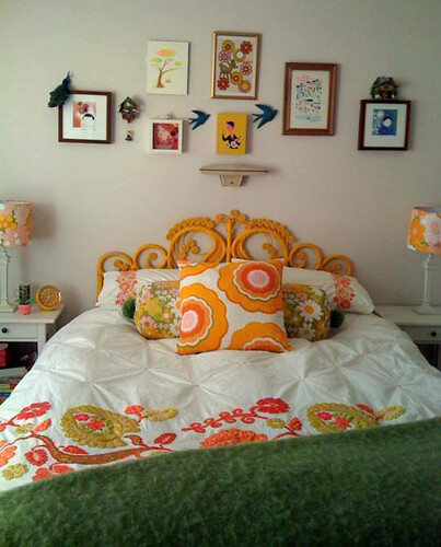 my delicious sunny bedroom