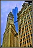 Wrigley-Trump.....Old-New -- Chicago by DMoutray - Denny Moutray Photography