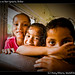 Kids in bus to San Ignacio, Belize