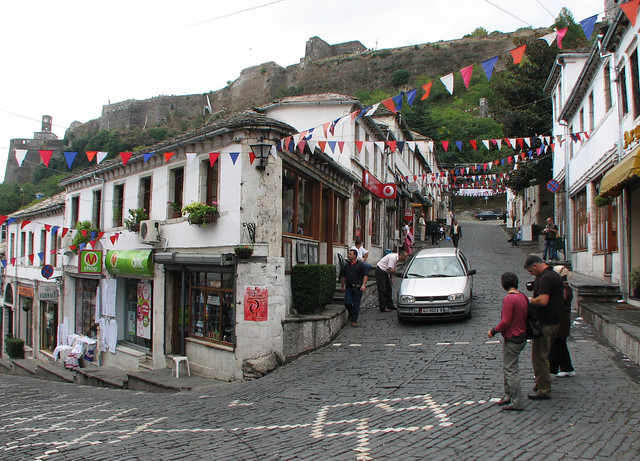 Pamje nga Gjirokastra